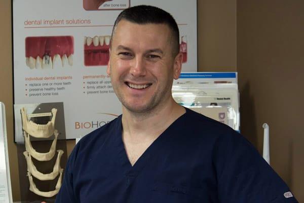 Portrait Of Dan Mihajlov Denturist Calgary