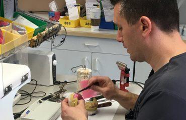 Calgary denturist Dan Mihajlov